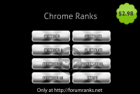 Chrome Forum Ranks
